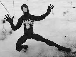 2017 marvel legends symbiote spider man figure review u0026 photos