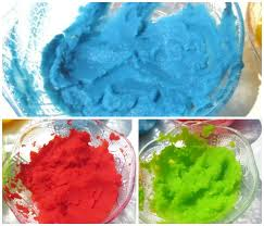 finger paint recipe growing a jeweled rose