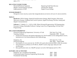 emejing advanced semiconductor engineer cover letter photos