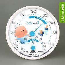température de la chambre de bébé température intérieure thermomètre et hygromètre humidité chambre