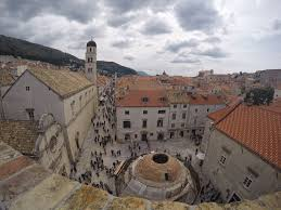stepping back in time and walking the dubrovnik city walls