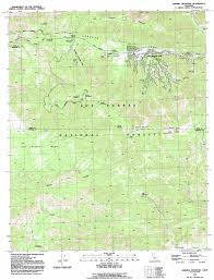 Topographic Map Of The United States by Sawmill Mountain Topographic Map Ca Usgs Topo Quad 34119g2
