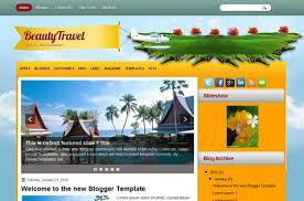 beautytravel blogger template jpg