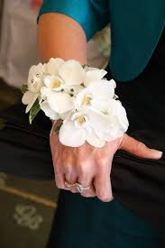 white orchid corsage white orchid wrist corsage search prom 14