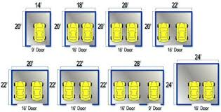 dimensions of a 2 car garage garage door 2 car garage door size wageuziinterior dimensions of