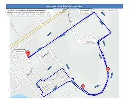 Run Map Course Map U2013 Bensalem Unity Run 2017