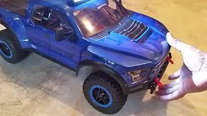 Ford Raptor Led Light Bar by Proline 2017 Raptor On 2wd Slash Proline Curved Light Bar Youtube