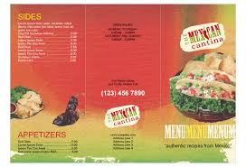 mexican restaurant print template pack from serif com