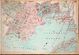 Map Of New York Harbor by Circle 7 Framing Local Interest Westchester County Ny