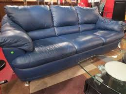 Leather Blue Sofa 53 Best Blue Leather Sofa Images On Pinterest Leather Couches