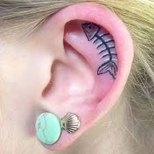 interesting tattoo idea u2013 get your ear inked thrill blender
