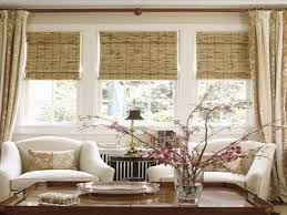 window treatment ideas for living rooms dining room windows treatment ideas for living bamboo window