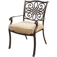 Patio Dining Chairs by Traditions 9 Piece Dinning Set Traddn9pcsw 2