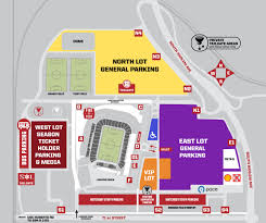 Mls Teams Map Parking And Directions Chicago Fire
