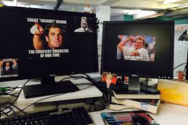 Memes Photo Editor - shane warne memes that i printed out and stuck all over my
