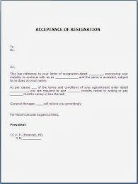 notice period resignation letter resignation letter 30 days