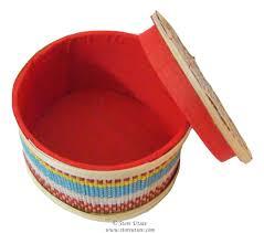 Collectible Home Decor Box Bamboo Handmade Indian Handicraft Home Decor Discovered