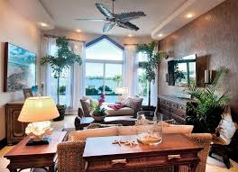 tropical themed living room tropical living room decorating ideas with unique ceiling