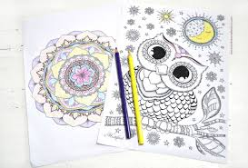 100 free coloring pages adults children