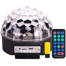 multi colored strobe light rotating led strobe light multi color changing crystal dmx stage