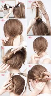 hairstyles with steps 32 chic 5 minute hairstyles tutorials you may love styles weekly