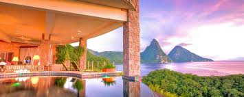 hotel jade mountain in soufriere st lucia