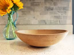 wood bowl give new to an wood bowl hgtv s decorating design