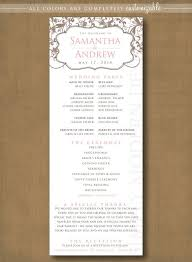 program for wedding ceremony template 53 best wedding ceremony programs images on wedding