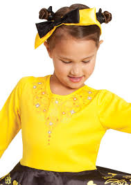wiggles costume for toddlers u0027s yellow wiggle emma ballerina costume the wiggles costume