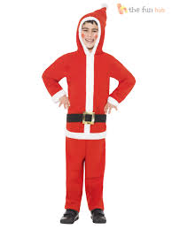 christmas costume age 4 12 kids christmas costume fancy dress all in one boys