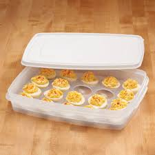 deviled egg tray with lid deviled egg keeper deviled egg carrier kitchen walter