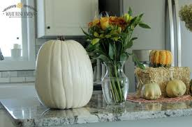 rustic pumpkin vase for fall thanksgiving or autumn