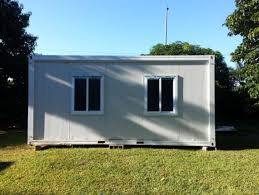 project for mauritius about 20ft container houses for display