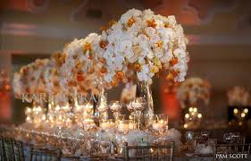 floral centerpieces orange floral centerpieces bitsy
