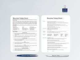 résumés today u2014 professional modern resume