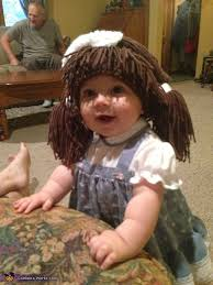 Cabbage Patch Kids Halloween Costume Cabbage Patch Doll Baby Costume Photo 2 7