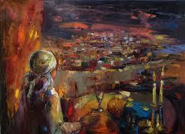 anna zarnitsky shabbat in jerusalem jewish art ii pinterest