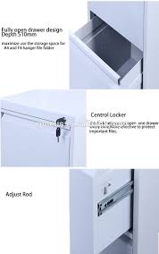 One Drawer Filing Cabinet by Multi Drawer Pvc Hanging Folder File Cabinet Light White Steel