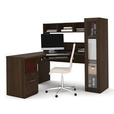 realspace magellan collection l shaped desk espresso nice realspace magellan collection l shaped desk espresso by