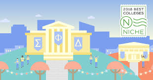 2018 colleges with the best greek life niche