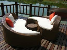 Wicker Rattan Patio Furniture - how to decorate outdoor wicker sofa babytimeexpo furniture