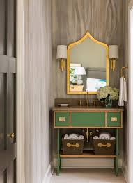 green bathroom vanity contemporary bathroom sherwin williams