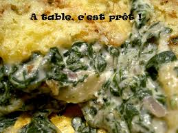 cuisiner le vert des blettes à table c est prêt tian de blettes à la brandade