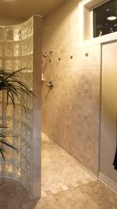 walk in no door shower bathroom pinterest doors showers