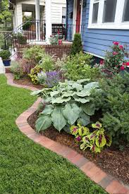 Landscaping Edging Ideas Image Of Lawn Edging Ideas Mulch Decorating Backyard With Three