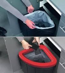poubelle pour meuble de cuisine tri des dechets franke sorter pour meuble 450 mm 242434