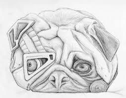 artstation robo pug sophie malledent