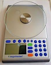 Weight Watchers Bathroom Scale Battery Weight Watchers Food Scale Ebay