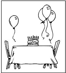 celebrations happy birthday coloring pages womanmate com