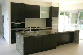 Alternatives To Kitchen Cabinets by Granite Countertop White Shiny Cabinets Glacier Bay Faucet